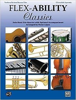 Amazon com: Flex-Ability Classics -- Solo-Duet-Trio-Quartet