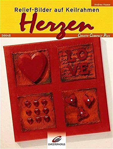 Relief-Bilder auf Keilrahmen. Herzen (Creativ Compact)