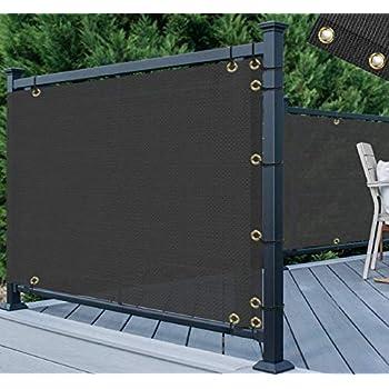 Amazon.com : Balcony Deck Privacy Screen Cover - Heavy