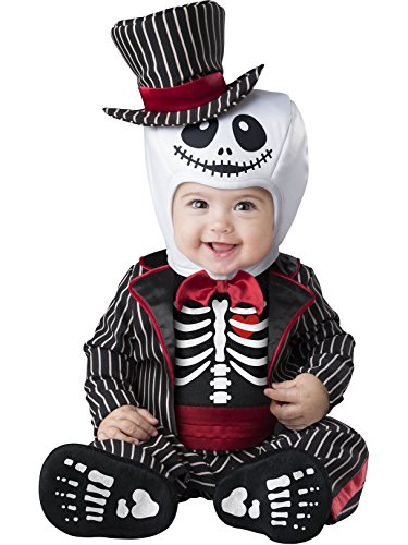 IN CHARACTER Lil' Skeleton Infant Costume -