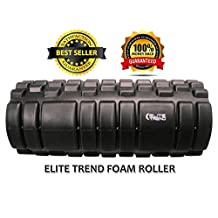 Elite Trend HQ Foam Roller-Constructed with Durable ABS Pipe