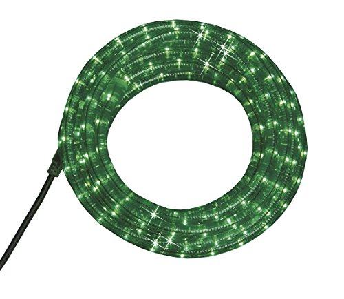 PARTY - LICHTSCHLAUCH - OUTDOOR / INDOOR - LICHTERSCHLAUCH - bruchfester und flexibler Kunststoff , ideal als stimmungsvolle Beleuchtung für Wintergarten , Bäume , Sträucher , Gebäude , Balkon , Terrasse und Pavillon - Beleuchtung , für den Innen - und Außen - Bereich geeignet - tolle Gesamtlänge von 7,50 Meter - aus dem KAMACA-SHOP ( Lichterschlauch : 600 cm grün)