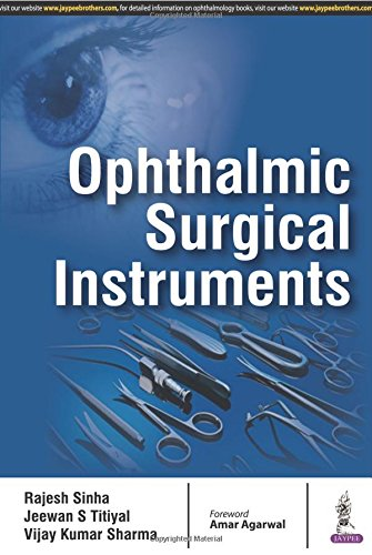 Ophthalmic Surgical Instruments by Jaypee Brothers Medical Publishers Pvt Ltd