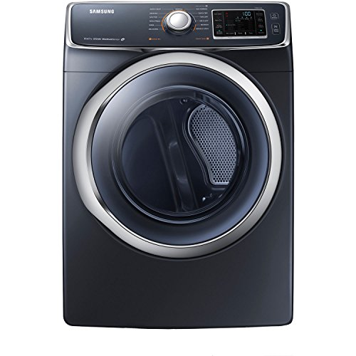 Samsung DV45H6300GG 7.5 Cu. Ft. Front-Load Gas Steam Dryer with Vent Sensor, Onyx