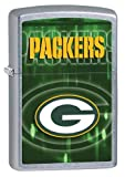 Personalized NFL Green Bay Packers Zippo Lighter - Free Engraving
