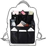 bag in bag Backpack Insert Organizer Diaper Shoulders Bag Handbag Organizer