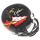 Jimbo Fisher Autographed Signed Black Florida State Seminoles Full Size Deluxe Replica Football Helmet - Certified Authentic