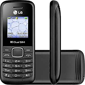 LG B220 Unlocked Only 2G GSM Quad-Band Dual SIM Phone (BLACK)