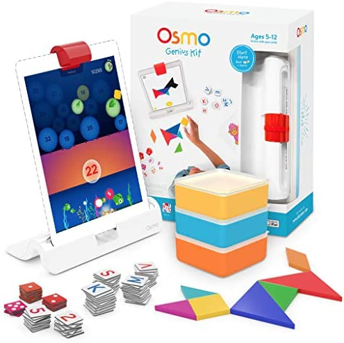 OSMO Little Genius Starter Kit for iPad 1 Osmo Dock • 4 Games *FREE SHIPPING