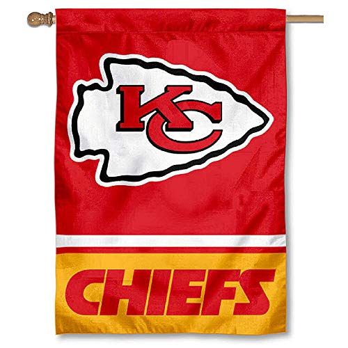 (Wincraft KC Chiefs Two Sided House Flag)