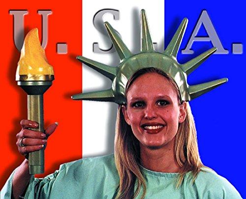 [Statue Liberty Set Costume Accessory] (Statue Of Liberty Costume Crown)