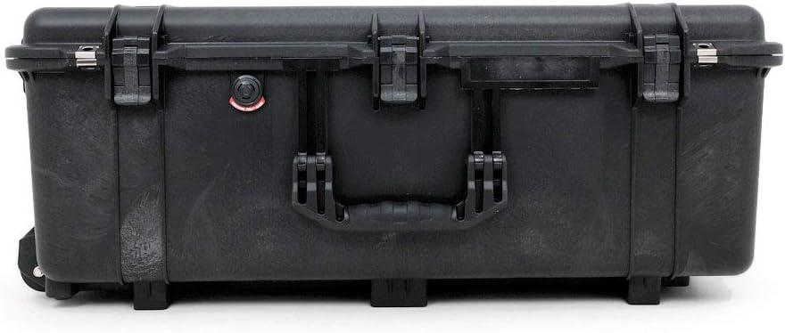 Peli 1650 Maleta Protectora con Compartimentos desplazables y Ruedas Negro
