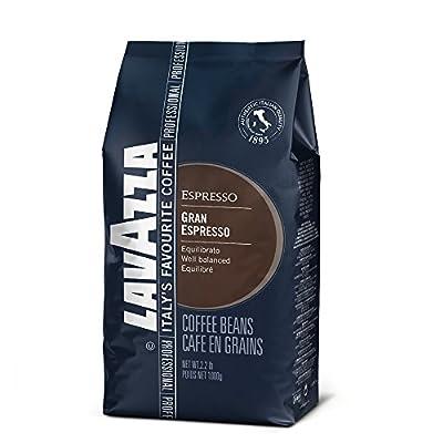 Lavazza Grand Espresso Beans - 2.2lb Bag (Case of 6)