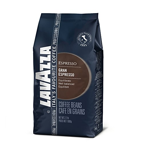 Lavazza Grand Espresso Beans - 2.2lb Bag (Case of 6)
