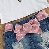 Toddler Kids Girls Summer Clothes Sets Ice Cream