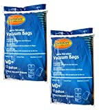 EnviroCare Replacement Vacuum Bags for Modern Day 12 Gallon Central Vacuums 6 Pack