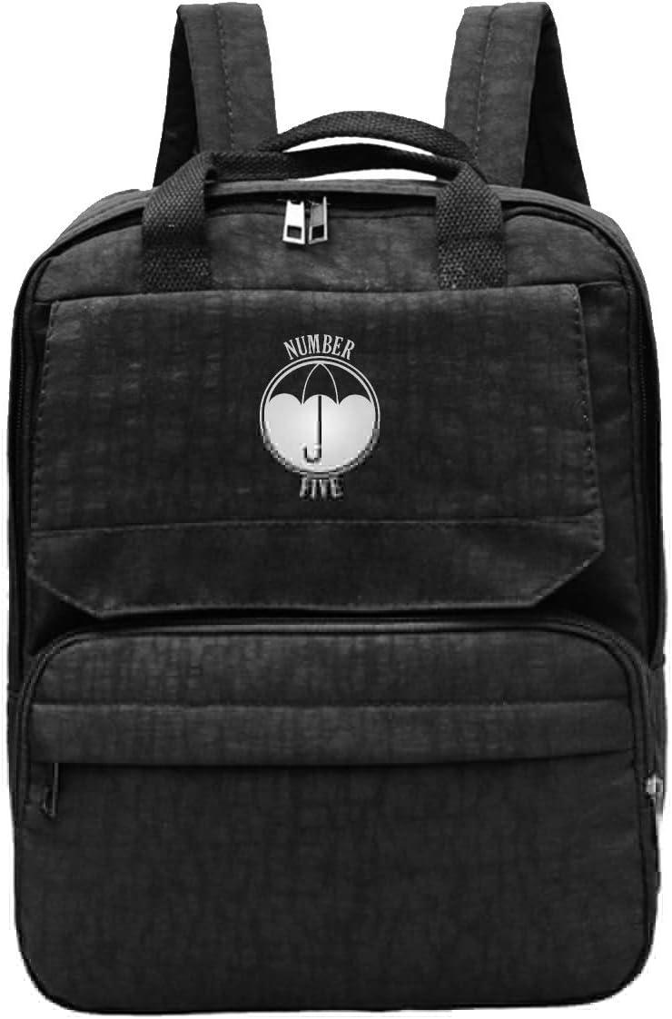 Umbrella Academy Number Four Backpack Daypack Rucksack Laptop Shoulder Bag with USB Charging Port