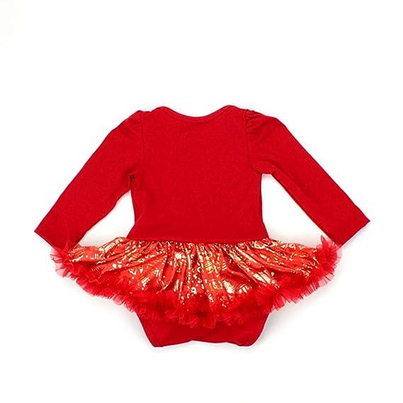 Amazon.com: Disfraz de primera Navidad para recién nacido ...