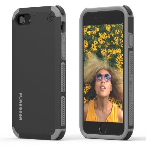Puregear DualTek Case Black iPhone 7 4,7'' Black Matt