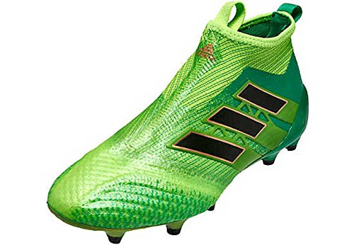 Price comparison product image adidas Kid's ACE 17+ PURECONTROL FG J Soccer Cleats (Sz. 4.5) Solar Green