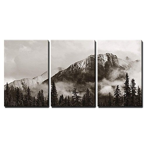 Banff National Park Canada Wall Decor x3 Panels