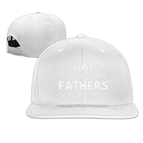 Runy Custom Guns Don't Kill People With Daughters Do Adjustable Baseball Hat & Cap - Tennis Tory Burch