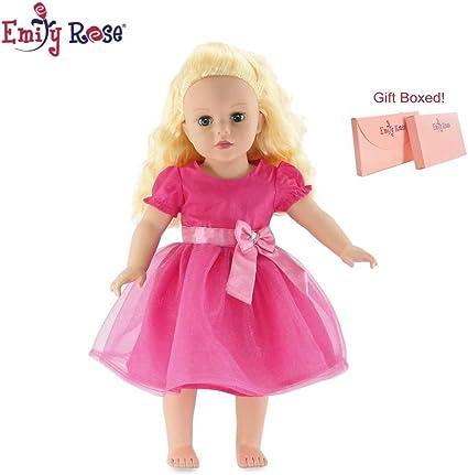 "CARPATINA Pink Lace Summer Dress  Fits 18/"" American Girl Dolls"