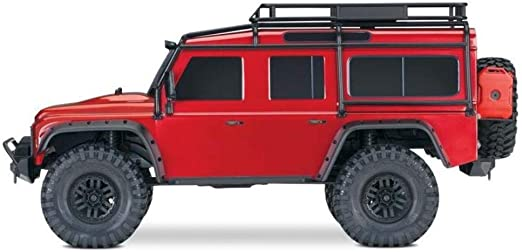 Traxxas TRX-4 Land Rover Defender 110 - Rojo # 82056-4R ...