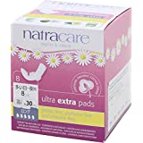 Natracare Ultra Extra Pads Long, 8 Count