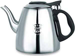 WHLMYH Kettles, Stainless Steel Kettle, Induction Cooker Universal Kettle, Teapot, Kitchen Help Kettle, Induction Cooker Kettle, Teapot, Multi-Function Kettle,1.2L Induction Cooker Teapot,1.2L Induct