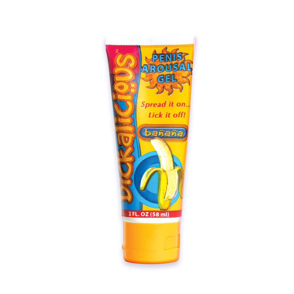 Hott Products Dickalicious Arousal Gel, Banana Flavor