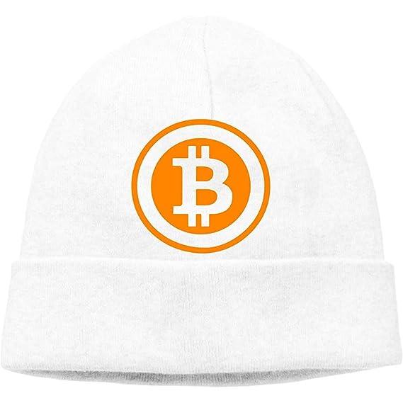 VAbBUQBWUQ Bitcoin Logo Cable Knit Skull Caps Gorros Gruesos ...