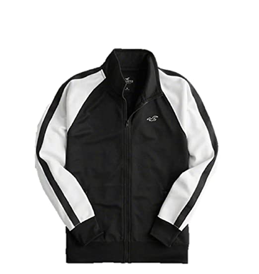 02f722fa1 Image Unavailable. Image not available for. Colour: Hollister Men's Full  Zip Track Jacket Hoodie/Hoody ...