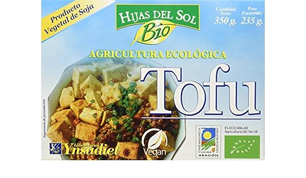 Hijas Del Sol Bio Tofu de Agricultura Ecológica - 260 gr ...