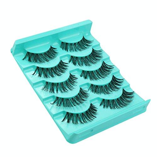 NewKelly False Eyelashes Handmade Lashes 3D Triple Soft Lashes