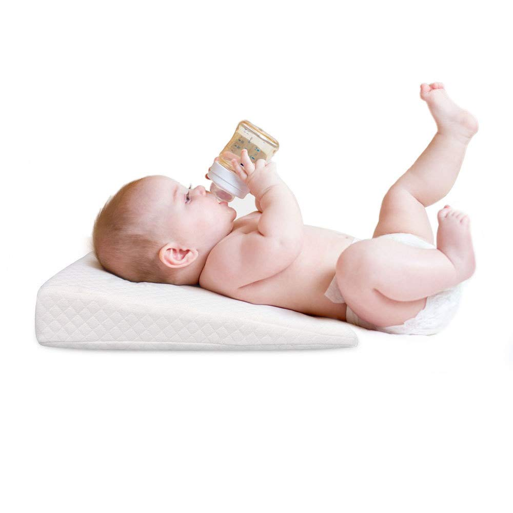 Almohada para Cuna con Cuña, Almohada para Dormir para Bebés ...