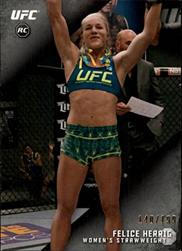 2015 Topps Ufc Knockout Silver  2 Felice Herrig  199