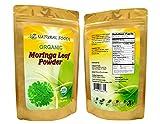 Organic Moringa Leaf Powder - Pure, Raw, Kosher, USDA Certified Organic, Non-GMO (1 lb)
