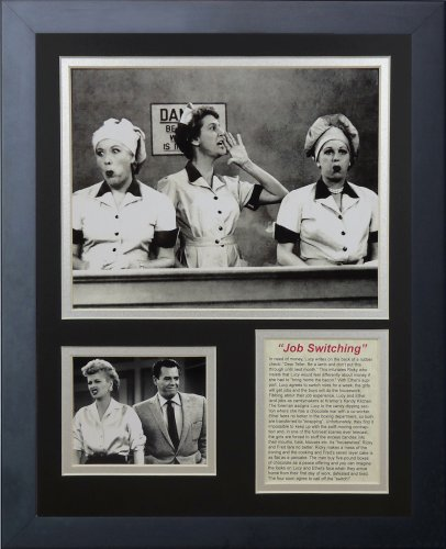 Legends Never Die I Love Lucy Chocolate Factory Framed Photo Collage, 11 by - Photo Factory