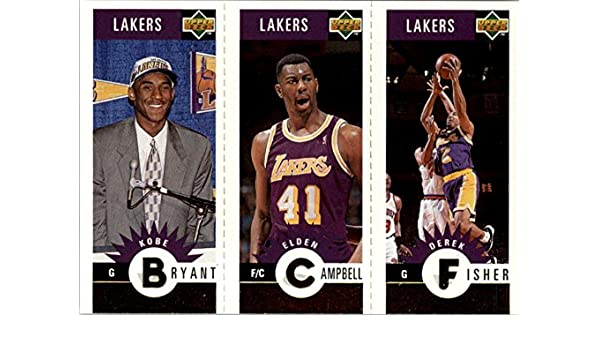 Kobe Bryant 1996-97 Collectors Choice Lakers Team GOLD ROOKIE card #L1