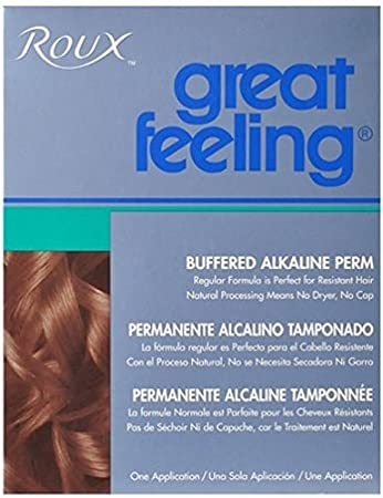 Amazon.com : Roux Great Feeling Buffered Alkaline Perm : Hair Permanent Products : Beauty