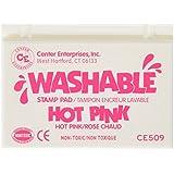 Center Enterprise CE509 Washable Stamp Pad, Hot Pink