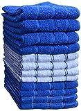 Best Dish Towels - Kitchen Towels (12 Pack, 15X25 Inch) 100% Premium Review