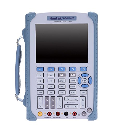 Hantek DSO1202B Handheld Digital Storage Oscilloscope 6000Counts DMM 200/100/60MHz 1GSa/s 2CH 5.6''TFT Color LCD Display by Hantek