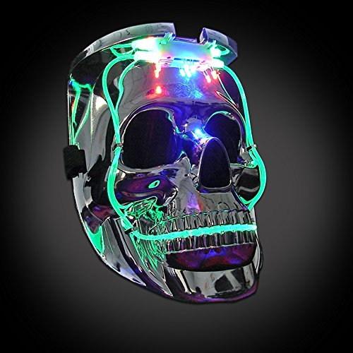 Amazing Halloween Masks (Light Up Flashing Skull Mask - A SUPER AMAZING Halloween Piece!)