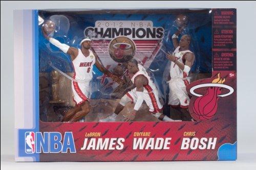 Miami Heat Championship - McFarlane Toys NBA Miami Heat Championship, 3 Pack
