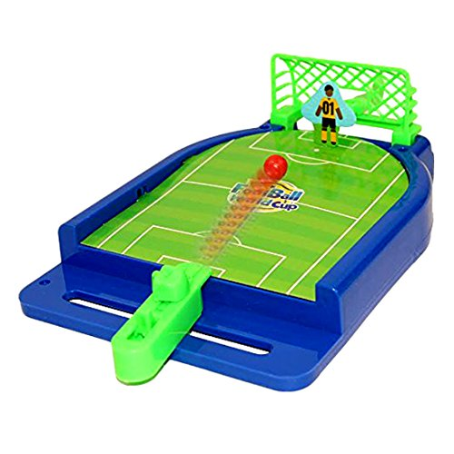 Football Button Mini - Toy Cubby Mini Football Tabletop Arcade Game - Miniature Desktop Soccer Novelty Game - Power Shot Football Skills Board Game for Ages 5 and Up - Game Room | Birthday Party | BBQ