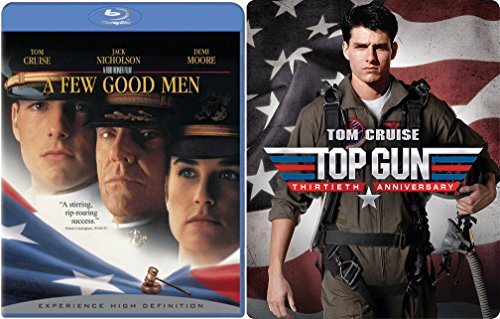 Top Gun Steelbook + A few Good Men Blu Ray Tom Cruise Set double feature bundle