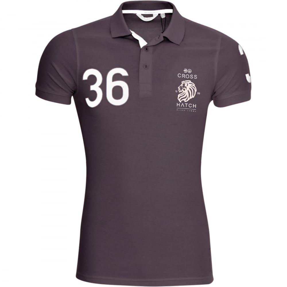 Crosshatch Mens Polo T Shirt  Cotton Colllared Pique Polo Tee Top Short Sleeved