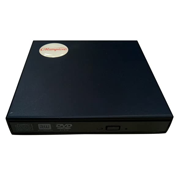 Champion External USB DVD Writer